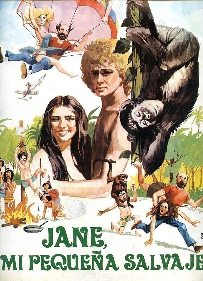 Guía publicitaria de la película Jane, mi pequeña salvaje I