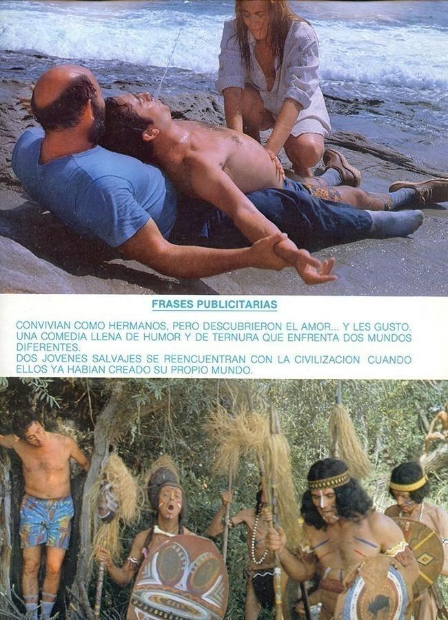 Guía publicitaria de la película Jane, mi pequeña salvaje II