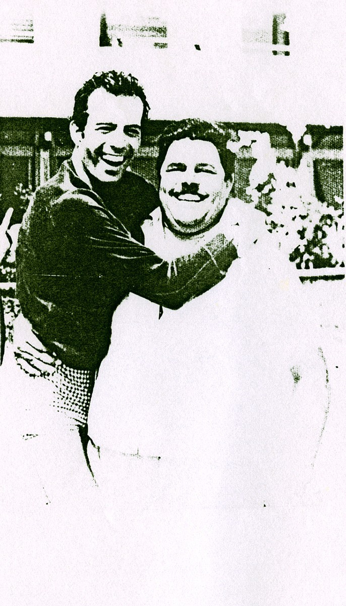 Heraclio Niz con Julio Iglesias II