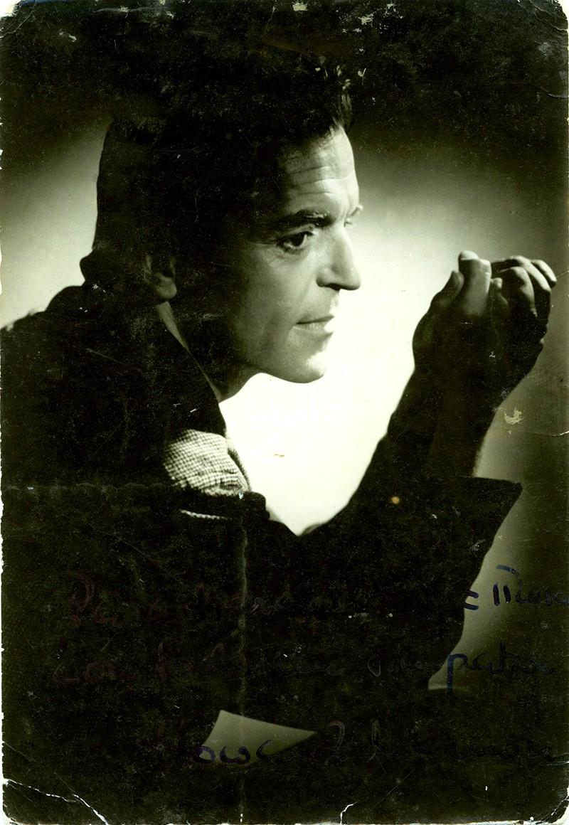 Retrato de Howard Vernon para Heraclio Niz