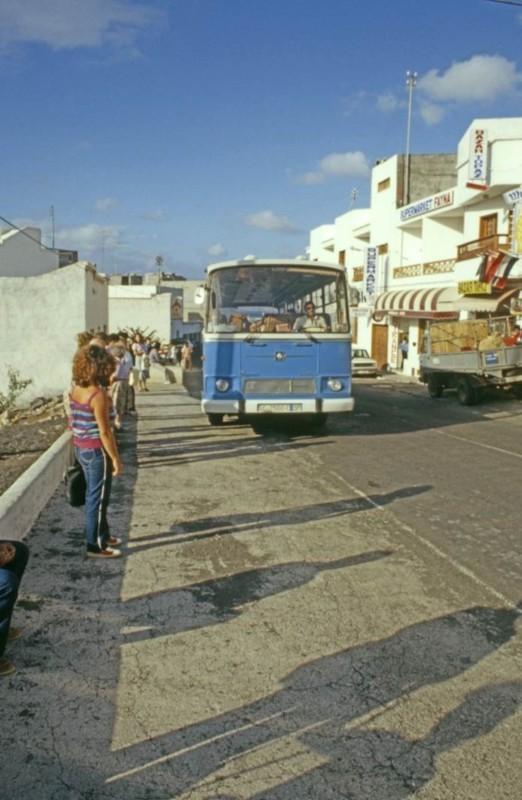Parada de guaguas de Puerto del Carmen