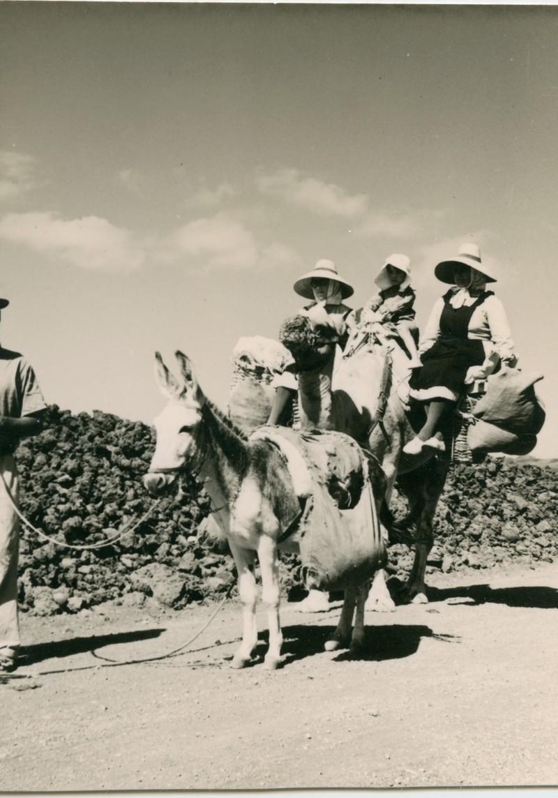 Mujeres en camello