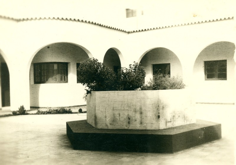 Patio del Hospital Insular