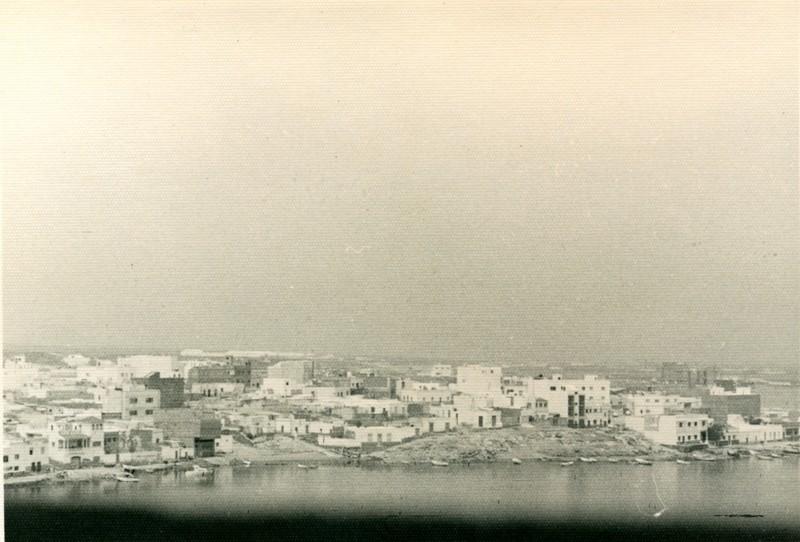 Vista aérea del Charco de San Ginés