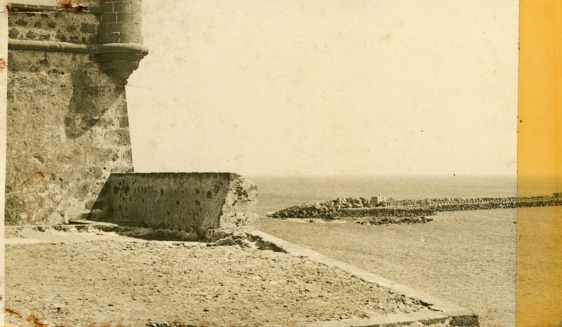 Vista parcial del Castillo de San José