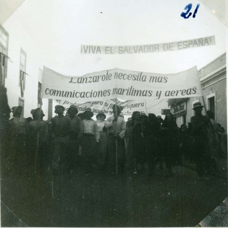 Álbum de la visita de Franco XXI