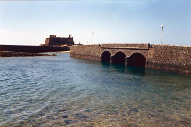 Castillo de San Gabriel y puente