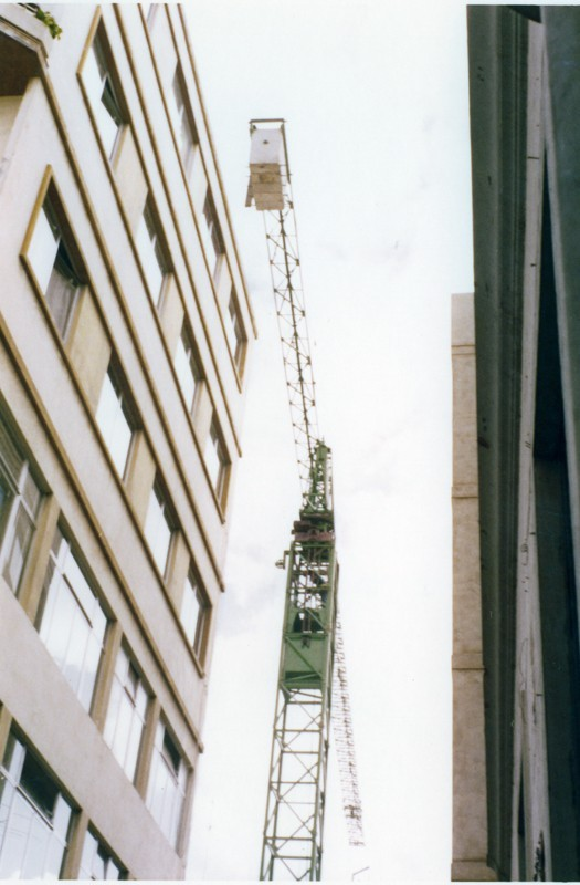 Construcción del edificio del Banco Santander III