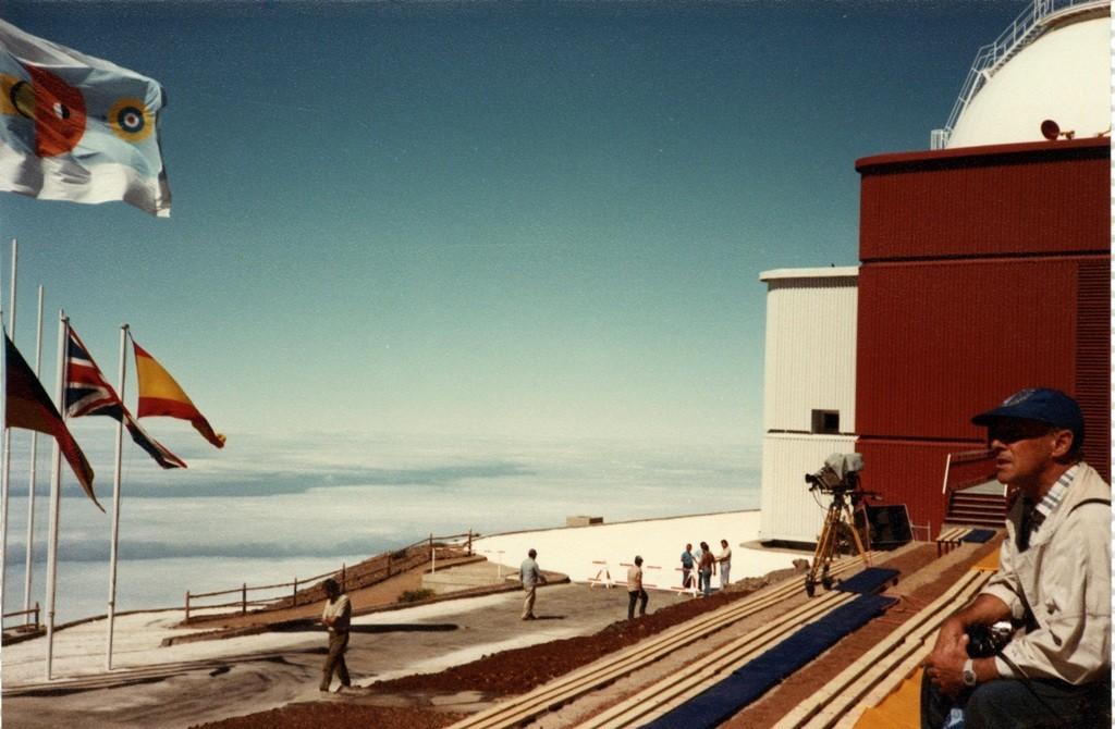 César Manrique en el Astrofísico de La Palma II