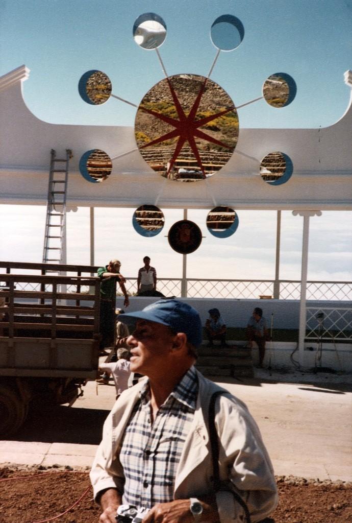 César Manrique en el Astrofísico de La Palma IV