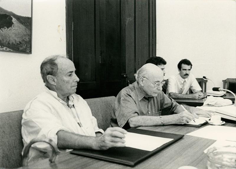 César Manrique en el Cabildo