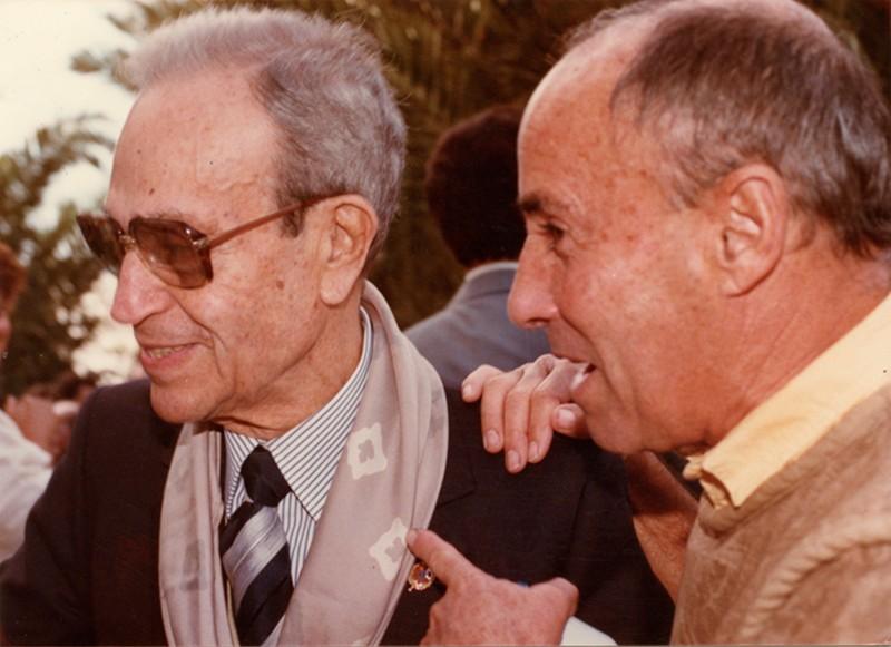César Manrique y Juan Rodríguez Doreste