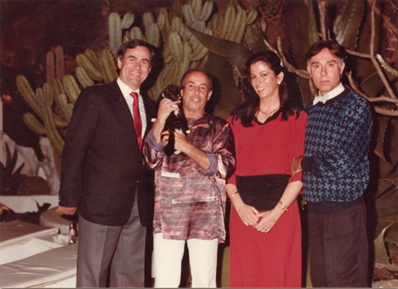 César Manrique y Pepe Dámaso