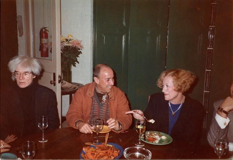 César Manrique y Andy Warhol