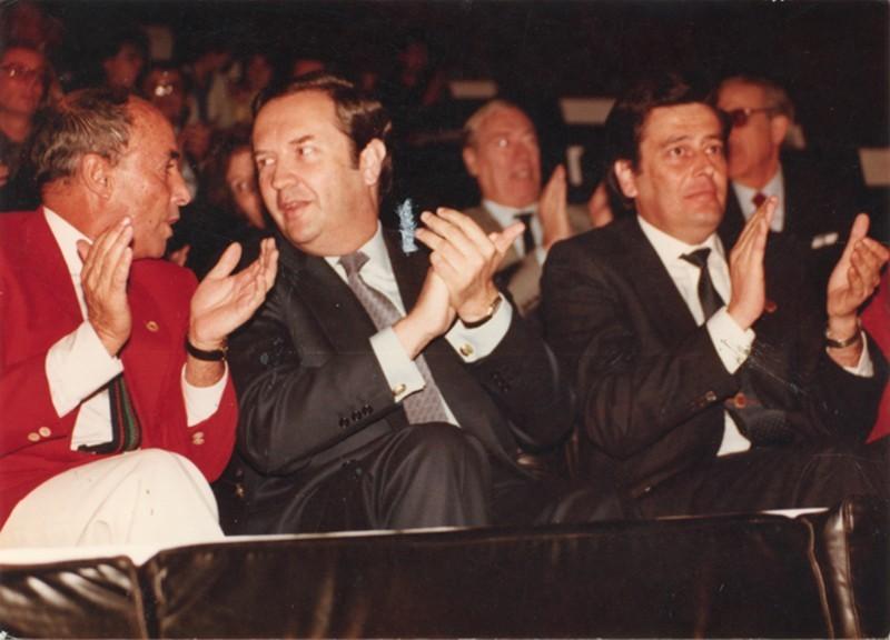 César Manrique y Jerónimo Saavedra