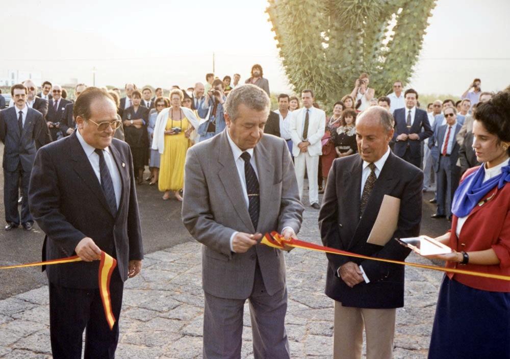 Inauguración del Jardín de Cactus IV
