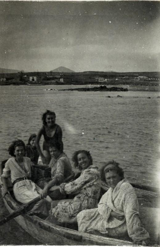 Jóvenes en barquillo