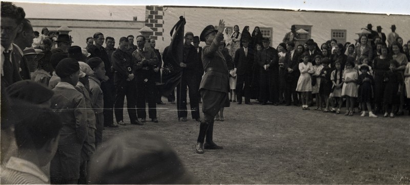 Militar en Tinajo
