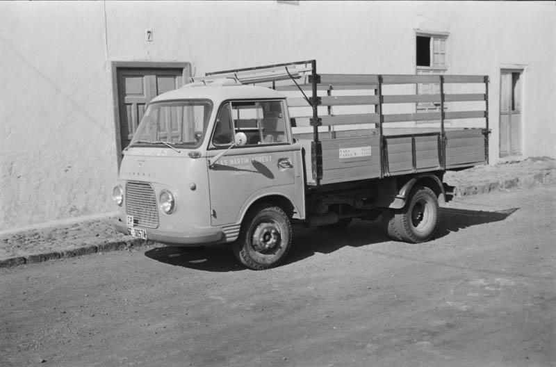 El camión de Blas IV
