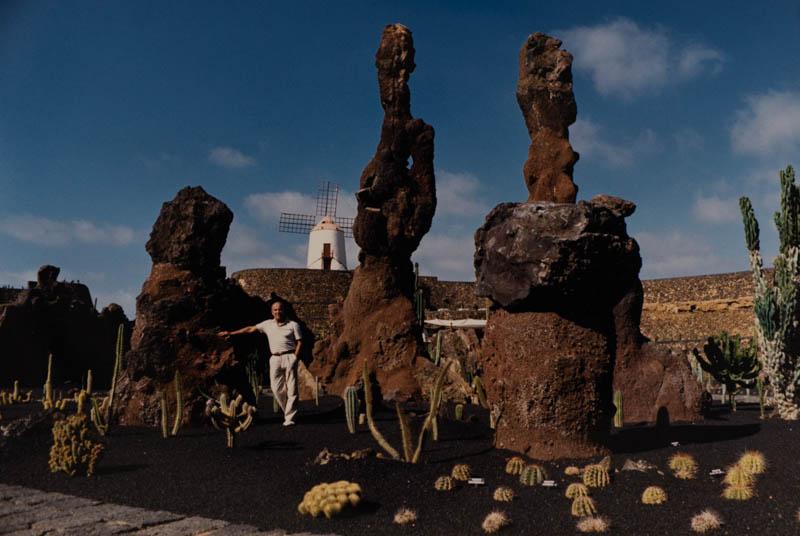 Manrique en el Jardín de Cactus III