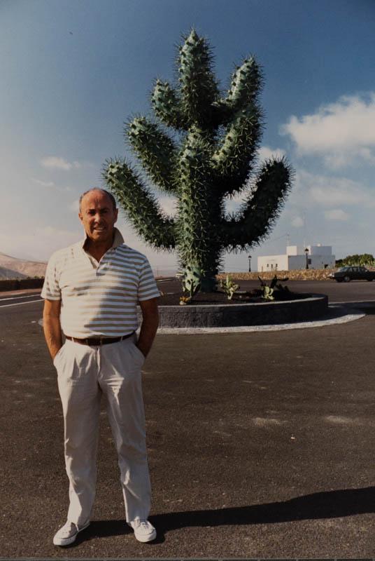 Manrique en el Jardín de Cactus V