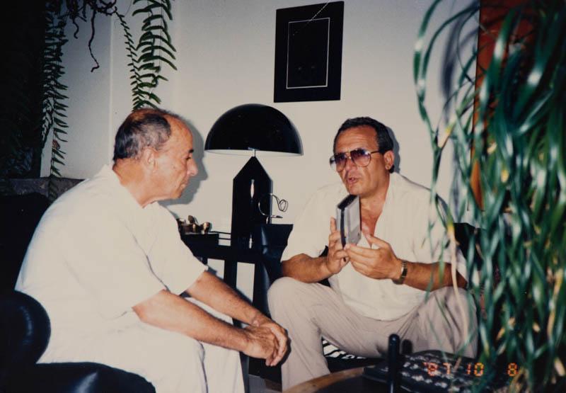 Manrique entrevistado por Agustín Acosta II