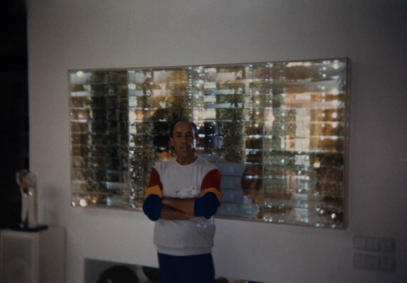 César Manrique en su vivienda de Tahíche VIII
