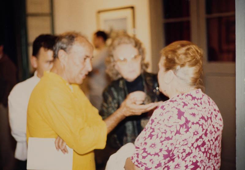 César Manrique y Jane Millares