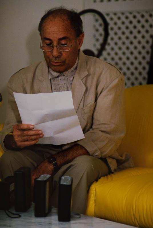 Manrique leyendo declaración III