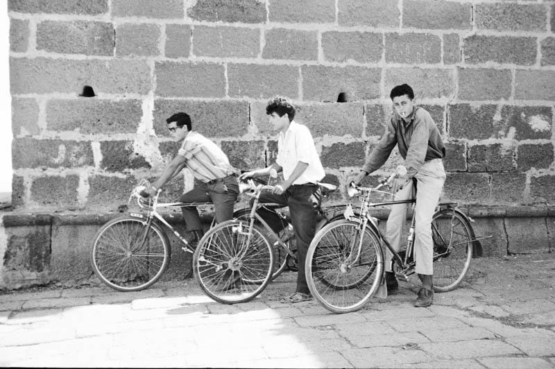 Retrato en bicicleta I