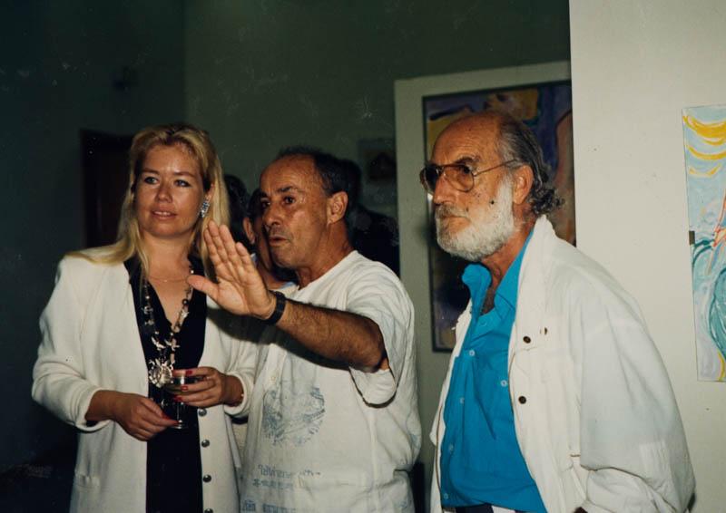 César Manrique en una exposición I