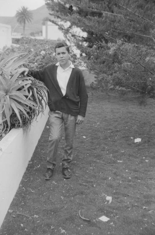 Carlos Hernández en Haría