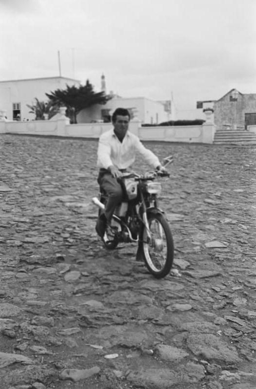 Retrato en moto