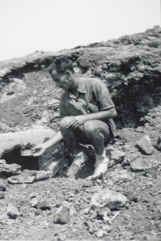 César Manrique en las Montañas del Fuego