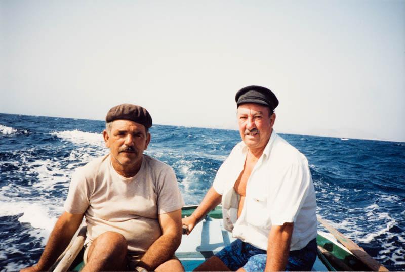 Carlos Manrique y Marcial Tavío