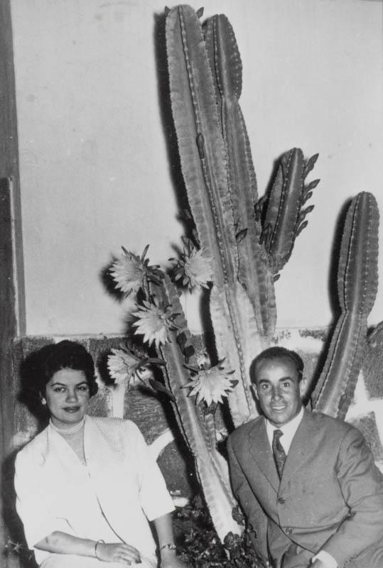 César Manrique y Carmen Martinón