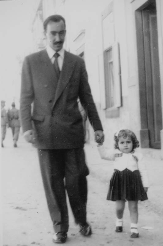 Carlos Manrique con sobrina