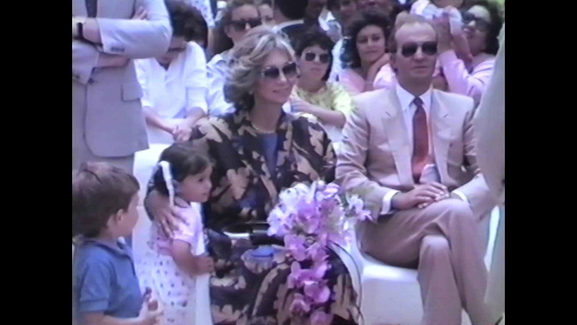 Visita de los Reyes de España a La Graciosa (1986)