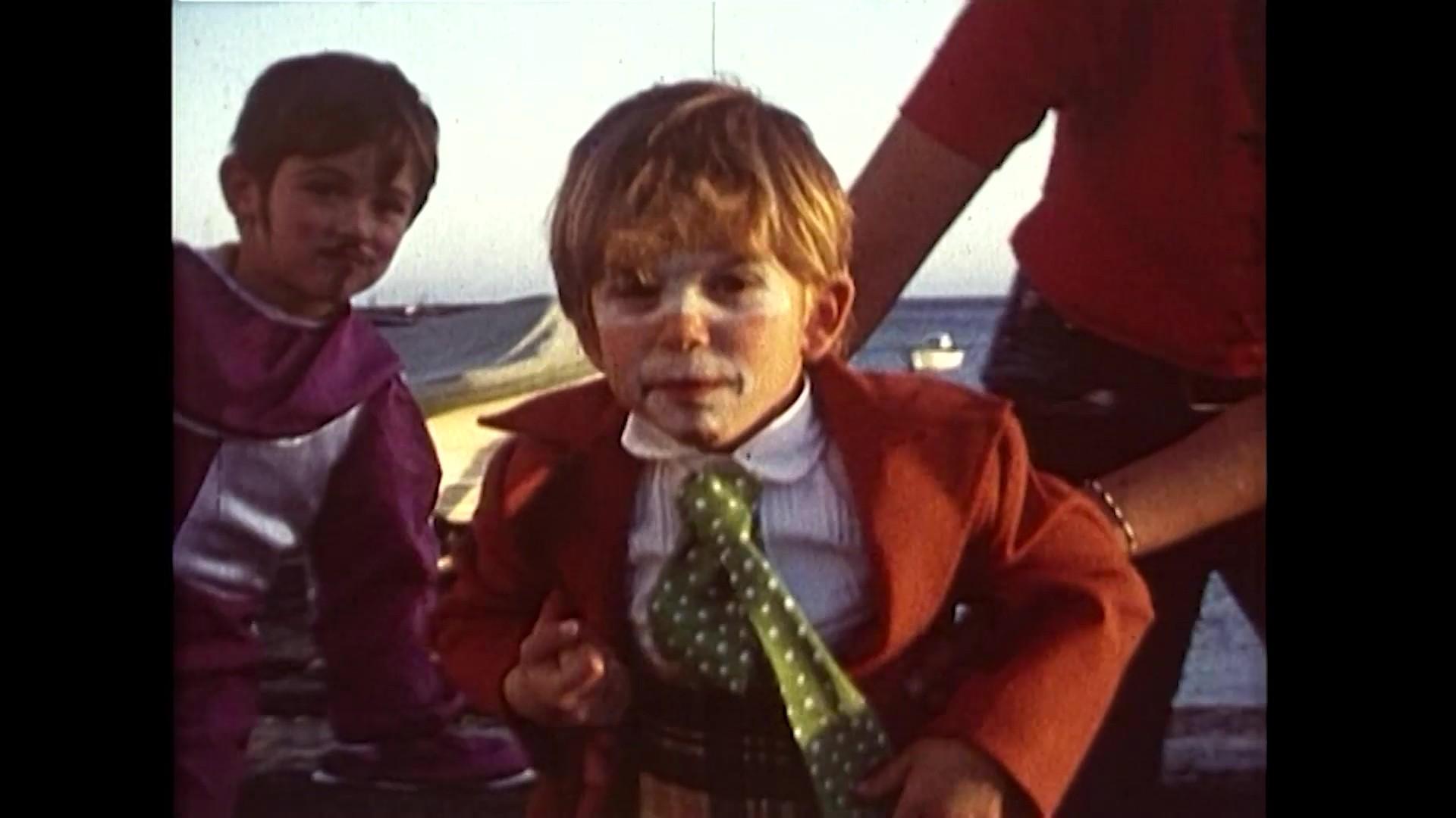 Carnaval infantil en el Club Náutico de Arrecife (1971)
