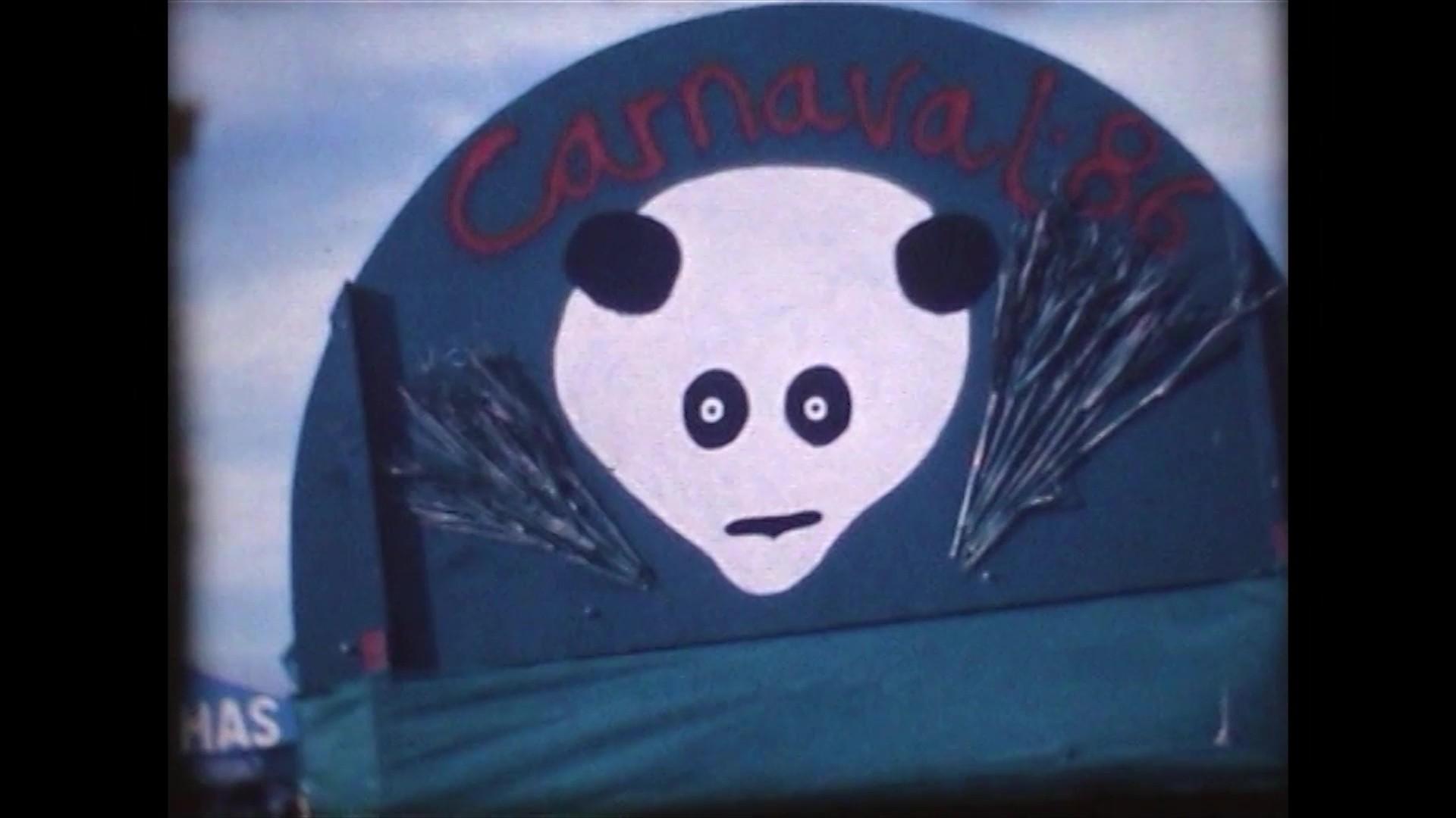 Coso del carnaval en Puerto del Carmen (1986)