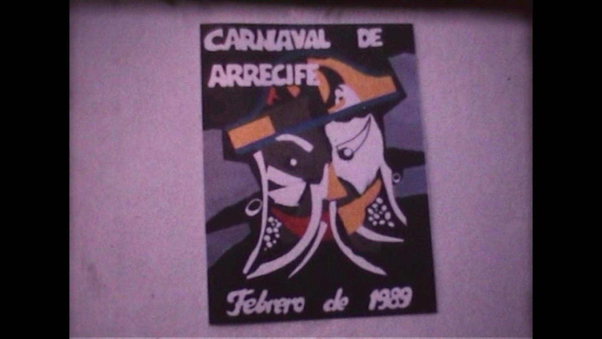 Coso del carnaval en Arrecife (1989)