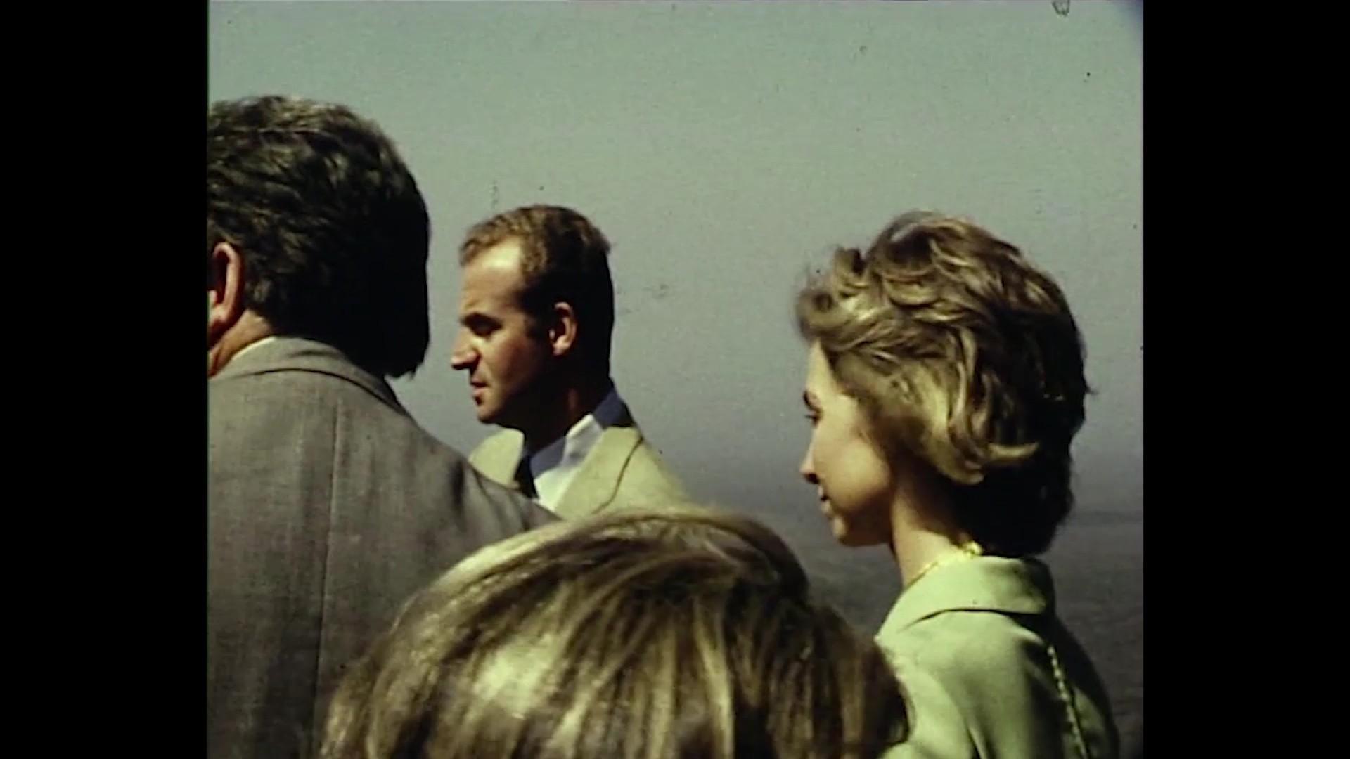 Los Príncipes de España en Lanzarote (1973)