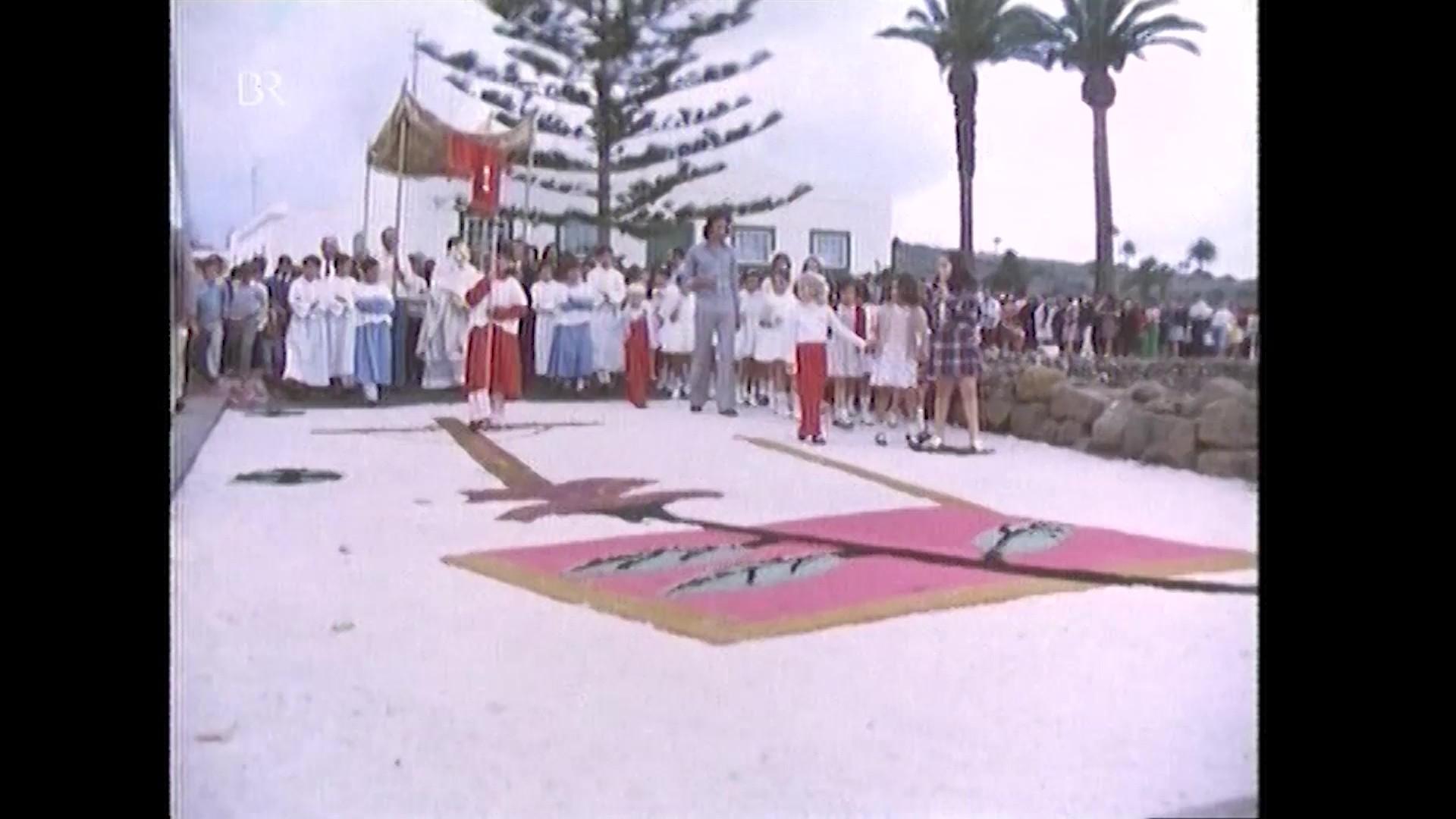 Alfombras de sal en Haría (1974)