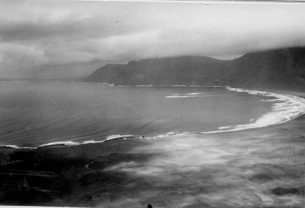Imagen aérea del Risco de Famara II