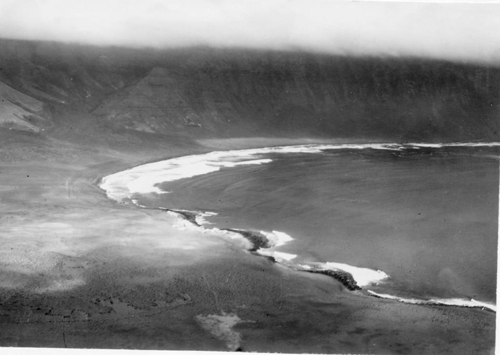 Imagen aérea del Risco de Famara III