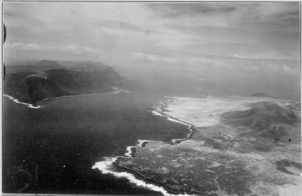 Imagen aérea de Risco de Famara y La Graciosa I