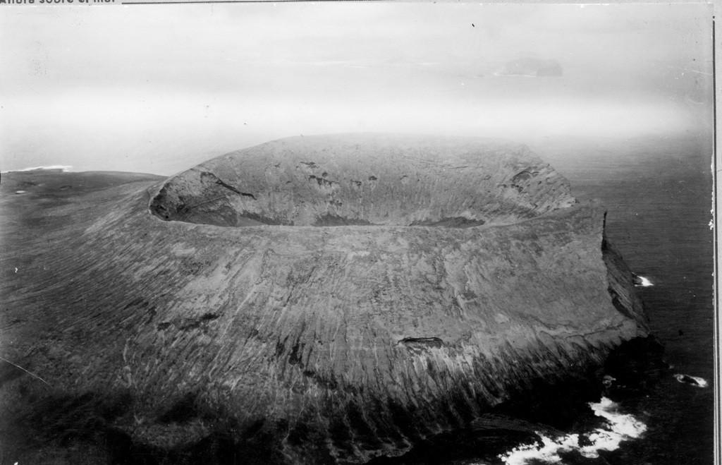 Imagen aérea de la isla de Alegranza I
