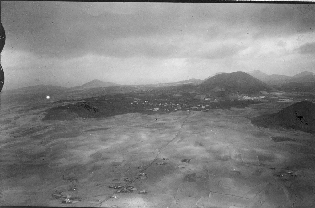 Imagen aérea de Muñique y Tiagua