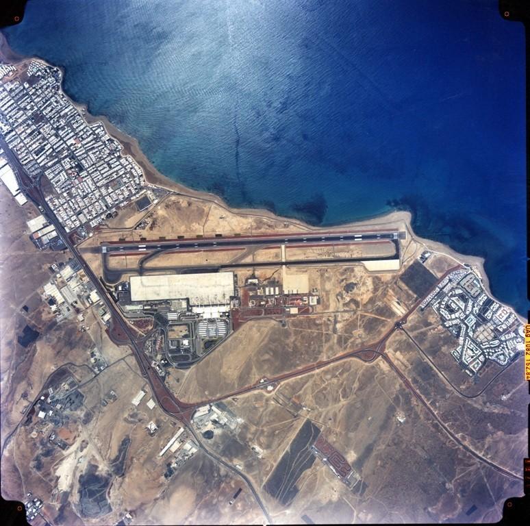 Imagen aérea del Aeropuerto de Lanzarote