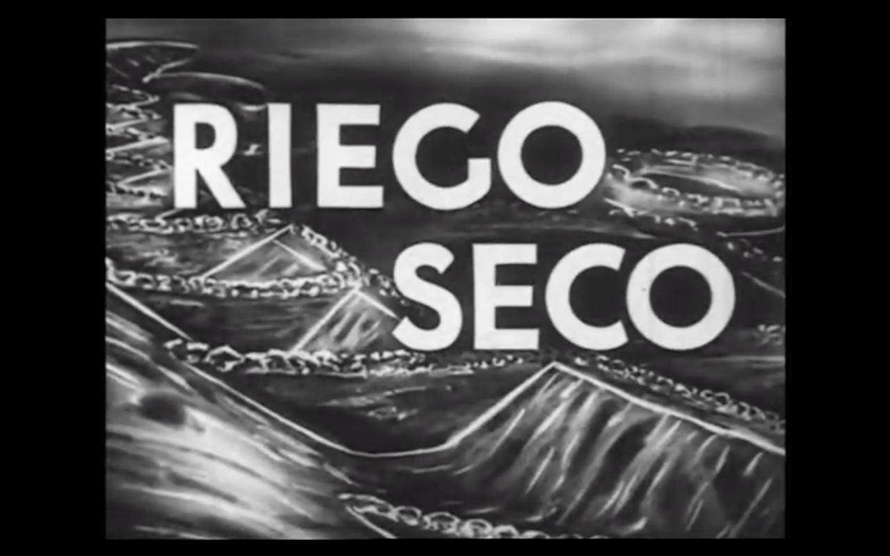Riego seco (1954)